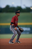 AZL Dbacks third baseman Jose Curpa (3) during an Arizona League game against the AZL Cubs 2 on June 25, 2019 at Sloan Park in Mesa, Arizona. AZL Cubs 2 defeated the AZL Dbacks 4-0. (Zachary Lucy/Four Seam Images)