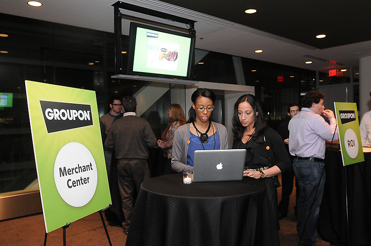 Groupon DC Merchant Sales Reception Groupon Merchant Reception held at The Newseum in Washington, DC.  Professional Image Photography by John Drew.