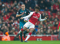 Arsenal's Alex Iwobi during the EPL - Premier League match between Arsenal and Southampton at the Emirates Stadium, London, England on 8 April 2018. Photo by Andrew Aleksiejczuk / PRiME Media Images.