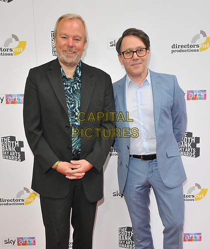 Steve Pemberton and Reece Shearsmith at the South Bank Sky Arts Awards 2019, The Savoy Hotel, The Strand, London, England, UK, on Sunday 07th July 2019.<br /> CAP/CAN<br /> ©CAN/Capital Pictures