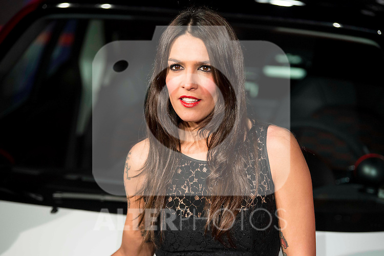 Lorena Castell attends to the party organized by Mercedes - Benz and Ushuaia Ibiza to the presentation of new Smart Fortwo Ushuaia Limited Edition 2016 at the Palacio de Cibeles in Madrid. March 10, 2016. (ALTERPHOTOS/BorjaB.Hojas)