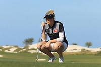 Charley Hull (ENG) during the final round of the Fatima Bint Mubarak Ladies Open played at Saadiyat Beach Golf Club, Abu Dhabi, UAE. 12/01/2019<br /> Picture: Golffile | Phil Inglis<br /> <br /> All photo usage must carry mandatory copyright credit (&copy; Golffile | Phil Inglis)