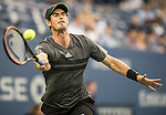 Andy Murray (GBR) takes the first set against Matthias Bachinger (GER)