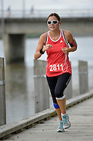 Action from Wanganui 3 Bridges Marathon, 3/4 Marathon &amp; Half Marathon plus 5km and 10km Events in Wanganui, New Zealand on Saturday 14 December 2013.<br /> Photo by Masanori Udagawa<br /> www.photowellington.photoshelter.com