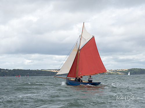 Cork Harbour's newest Pilot Cutter was refurbished over the winter and now afloat at Crosshaven Photo: Bob Bateman