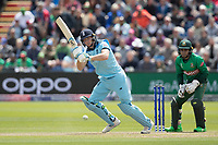 Jos Buttler (England) plays to leg for an easy single during England vs Bangladesh, ICC World Cup Cricket at Sophia Gardens Cardiff on 8th June 2019