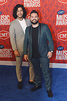 NASHVILLE, TENNESSEE - JUNE 05: Dan Smyers and Shay Mooney of Dan+ Shay attend the 2019 CMT Music Awards at Bridgestone Arena on June 05, 2019 in Nashville, Tennessee. <br /> CAP/MPI/IS/NC<br /> ©NC/IS/MPI/Capital Pictures