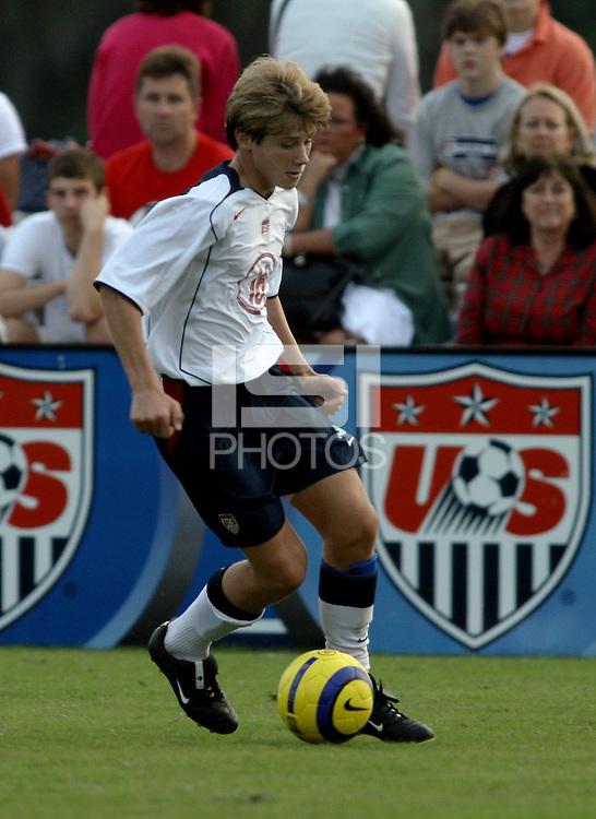 Kirk Urso, Nike Friendlies, 2004.