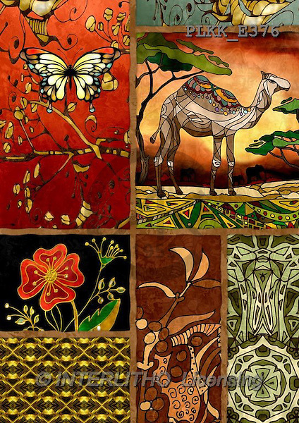 Kris, ETHNIC, paintings,+camel++++,PLKKE376,#ethnic# Africa