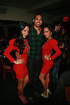 To-Tam Sachika, Guest and  To-Nya Sachika Attend JONES MAGAZINE PRESENTS SACHIKA TWINS BDAY BASH at SL, NY 12/12/11