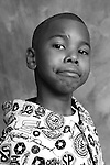 Pediatric patient Terrell W is pictured on Jan. 24, 2008, at the American Family Children's Hospital in Madison, Wis. The photography session is coordinated by Flashes of Hope, a nonprofit organization dedicated to creating uplifting portraits of children fighting cancer and other life-threatening illnesses.
