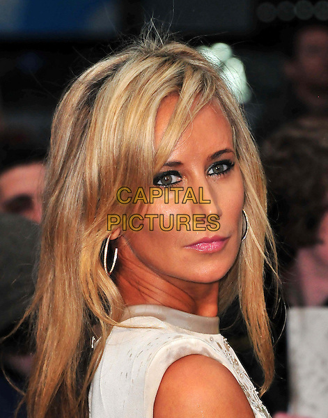 Lady Victoria Hervey<br /> 'Man Of Steel' UK film premiere, Empire cinema, Leicester Square, London, England.<br /> 12th June 2013<br /> headshot portrait white silver  <br /> CAP/BF<br /> &copy;Bob Fidgeon/Capital Pictures