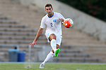 14 August 2015: North Carolina's Jonathan Campbell. The University of North Carolina Tar Heels hosted the Winthrop University Eagles at Fetzer Field in Chapel Hill, NC in a 2015 NCAA Division I Men's Soccer preseason exhibition. North Carolina won the game 4-1.