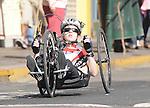 November 12 2011 - Guadalajara, Mexico:  Myriam Adam during her Road Race at the 2011 Parapan American Games.  Photos: Matthew Murnaghan/Canadian Paralympic Committee