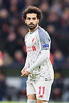 13.03.2019, Allianz Arena, Muenchen, GER, UEFA CL, FC Bayern Muenchen (GER) vs FC Liverpool (GBR) ,Achtelfinale, UEFA regulations prohibit any use of photographs as image sequences and/or quasi-video, im Bild Mohamed Salah (Liverpool #11) <br /> <br /> Foto © nordphoto / Straubmeier