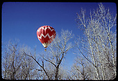 Hot air balloon in flight.<br />   prior to 2/1978