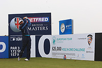 Joost Luiten (NED) and on the 10th tee during the Pro-Am of the Betfred British Masters 2019 at Hillside Golf Club, Southport, Lancashire, England. 08/05/19<br /> <br /> Picture: Thos Caffrey / Golffile<br /> <br /> All photos usage must carry mandatory copyright credit (&copy; Golffile | Thos Caffrey)