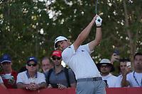 Sergio Garcia (ESP) on the 17th tee during Round 3 of the Abu Dhabi HSBC Championship at the Abu Dhabi Golf Club, Abu Dhabi, United Arab Emirates. 18/01/2020<br /> Picture: Golffile | Thos Caffrey<br /> <br /> <br /> All photo usage must carry mandatory copyright credit (© Golffile | Thos Caffrey)