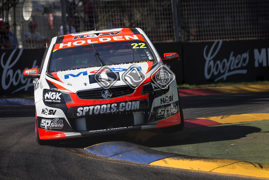 James Courtney of the Holden Racing Team winner of the Clipsal 500, Event 01 of the 2014 Australian V8 Supercars Championship Series at the , , , March 02, 2014.© Sport the library / Mark Horsburgh