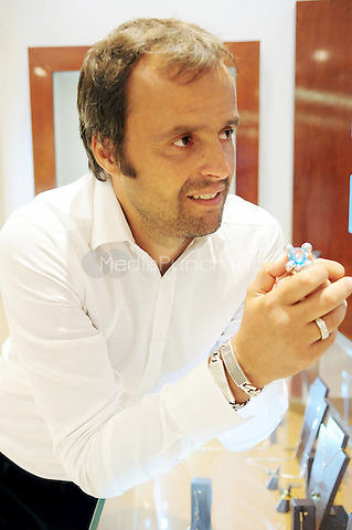 AVENTURA, FL - AUGUST 24: Jewelry designer Franco Pianegonda make a rare appearance to preview his fall 2011 Collection at Franco Pianegonda Boutique Aventura Mall on August 24, 2011 in Aventura, Florida. (photo by: MPI10/MediaPunch Inc.)