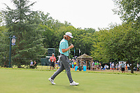 Tommy Fleetwood (ENG) makes his way from the 11th tee during Sunday's final round of the PGA Championship at the Quail Hollow Club in Charlotte, North Carolina. 8/13/2017.<br /> Picture: Golffile | Ken Murray<br /> <br /> <br /> All photo usage must carry mandatory copyright credit (&copy; Golffile | Ken Murray)
