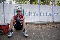 Peter Stetina (USA/Trek-Segafredo) post-race<br /> <br /> 98th Milano - Torino 2017 (ITA) 186km