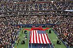 11.09.2011, Flushing Meadows, New York, USA, WTA Tour, US Open, Finale im einzel der Damen, im Bild Eröffnungs Zeremonie // during WTA Tour US Open tennis tournament at Flushing Meadows, women singles final, New York, USA on 11/09/2011. EXPA Pictures © 2011, PhotoCredit: EXPA/ Newspix/ Marek Janikowski +++++ ATTENTION - FOR AUSTRIA/(AUT), SLOVENIA/(SLO), SERBIA/(SRB), CROATIA/(CRO), SWISS/(SUI) and SWEDEN/(SWE) CLIENT ONLY +++++