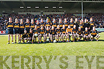 Dr.Crokes squad await the start of their AIB All Ireland Senior Football Championship Final replay in Portlaoise on Sunday. Front Row L to R: Jamie Doolan, Tommy Ryan,.Batt Moriarty, Brian Looney, Shane Doolan, James Fleming (capt), Brian McMahon, Colm Cooper, Kieran Cremin, Kieran OLeary, Bryan ODonoghue, Kevin Smyth, Keith.McMahon. Back Row L to R : Johnny Buckley, Luke Quinn, Eanna Kavanagh, Ian Howard, Edmund OSullivan, Michael ODonoghue, Nicholas Murphy, Tomas Regan, David.Moloney, Ambrose ODonovan, Michael Moloney, Eoin Brosnan, Andrew OConnell, John Payne, Johnny OSullivan, James Cahillane, Vince Cooper, Kieran Brosnan.