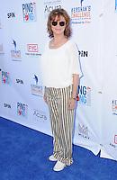 11 August 2016 - Los Angeles, California. Susan Sarandon. Clayton Kershaw's 4th Annual Ping Pong 4 Purpose Celebrity Tournament held at Dodger Stadium. Photo Credit: Birdie Thompson/AdMedia