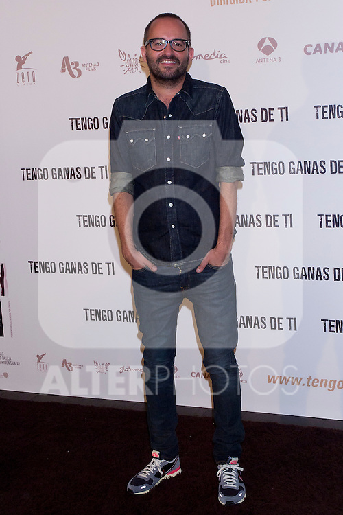 19.06.2012. Presentation of the film ´Tengo ganas de Ti (I have You Walk Away) in the Hotel Me at Madrid. The movie is directed by Fernando Gonzalez Molina and starring Mario Casas, Clara Lago and Maria Valverde. In the image Fernando Gonzalez Molina (Alterphotos/Marta Gonzalez)