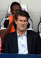 Pictured: Swansea manager Michael Laudrup. Sunday 01 September 2013<br />