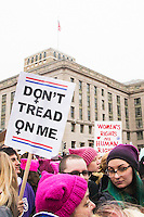 The Women's March on Washington on January 21, 2017 in Washington, D.C.