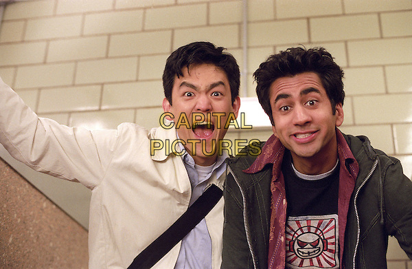 JOHN CHO & KAL PENN.in Harold and Kumar Go To White Castle.*Editorial Use Only*.www.capitalpictures.com.sales@capitalpictures.com.Supplied by Capital Pictures.