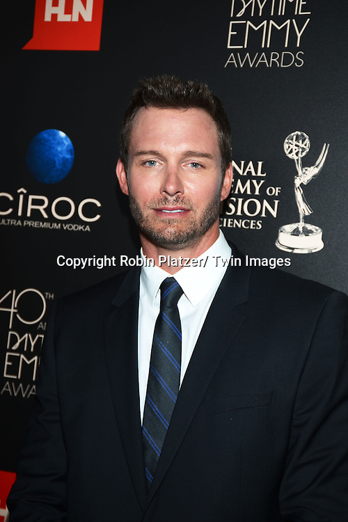 Eric Martsolf attends The 40th Annual Daytime Emmy Awards on<br />