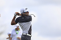 Rafa Cabrera-Bello (ESP) tees off the par3 6th tee during Saturday's Round 3 of the 117th U.S. Open Championship 2017 held at Erin Hills, Erin, Wisconsin, USA. 17th June 2017.<br /> Picture: Eoin Clarke | Golffile<br /> <br /> <br /> All photos usage must carry mandatory copyright credit (&copy; Golffile | Eoin Clarke)