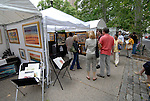 Rittenhouse Square art show and people..Philadelphia, Pennsylvania, PA USA.  Photo copyright Lee Foster, 510-549-2202, lee@fostertravel.com, www.fostertravel.com. Photo 311-30691
