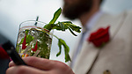 LOUISVILLE, KY - MAY 04: A Mint Julep, the specialty drink of the Kentucky Derby on Kentucky Oaks Day at Churchill Downs on May 4, 2018 in Louisville, Kentucky. (Photo by Scott Serio/Eclipse Sportswire/Getty Images)