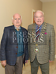 Mayor of Drogheda Frank Godfrey with Paddy Brennan at the official opening of the new Associated Bridge Clubs of Drogheda (ABCD) headquaters on the Fair Green. Photo:Colin Bell/pressphotos.ie