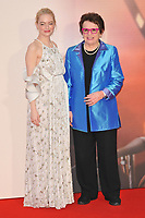 Emma Stone and Billie Jean King at the 61st BFI LFF &quot;Battle of the Sexes&quot; American Express gala, Odeon Leicester Square, Leicester Square, London, England, UK, on Saturday 07 October 2017.<br /> CAP/CAN<br /> &copy;CAN/Capital Pictures