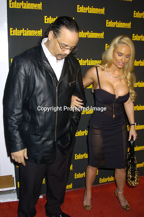 Ice T and Coco..at the 11th Annual Entertainment Weekly Oscar Party on ..Februaty 27, 2005 at Elaine's in New York City. ..Photo by Robin Platzer, Twin Images