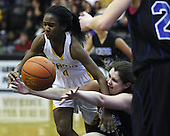 Rochester vs Rochester Adams at Oakland University, Girls Varsity Basketball, 1/13/12
