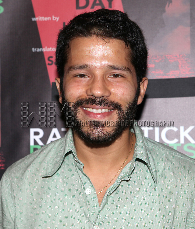 Carlo Alban attending the Opening Night Performance of The Rattlestick Playwrights Theater Production of 'A Summer Day' at the Cherry Lane Theatre on 10/25/2012 in New York.