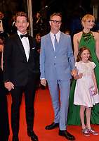 "CANNES, FRANCE. May 17, 2019: Miles Teller, Nicolas Winding Refn & Liv Corfiven at the gala premiere for ""Too Old to Die Young – North of Hollywood, West of Hell"" at the Festival de Cannes.<br /> Picture: Paul Smith / Featureflash"