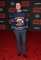Taran Killam at the world premiere for &quot;Star Wars: The Last Jedi&quot; at the Shrine Auditorium. Los Angeles, USA 09 December  2017<br /> Picture: Paul Smith/Featureflash/SilverHub 0208 004 5359 sales@silverhubmedia.com