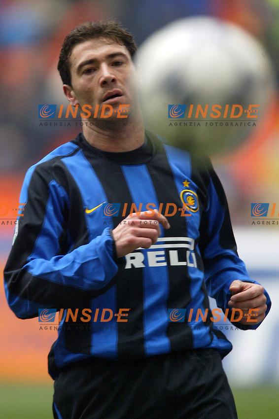 Milano 14/3/2004 Campionato Italiano Serie A - <br /> 25a Giornata - Matchday 25 <br /> Inter Chievo 0-0 <br /> Kily Gonzalez (Inter) <br /> Photo Andrea Staccioli Insidefoto