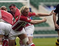 2006, Powergen Cup, Twickenham, Alix Popham, London Wasps vs Llanelli Scarlets, ENGLAND, 09.04.2006, 2006, , © Peter Spurrier/Intersport-images.com.   [Mandatory Credit, Peter Spurier/ Intersport Images].