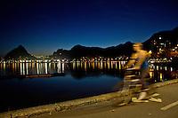 RIO DE JANEIRO, RJ, 08.09.2013 - CLIMA TEMPO RIO DE JANEIRO - Vista da Lagoa Rodrigo de Freitas na cidade do Rio de Janeiro no final da tarde deste domingo, 08. (Foto: Isabela Catão / Brazil Photo Press).