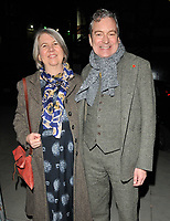 Christine and John Middleton at the &quot;Big Fish the Musical&quot; gala performance, The Other Palace, Palace Street, London, England, UK, on Wednesday 08 November 2017.<br /> CAP/CAN<br /> &copy;CAN/Capital Pictures