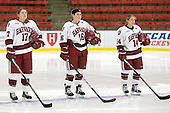 Kaitlin Spurling (Harvard - 17), Marissa Gedman (Harvard - 16), Jillian Dempsey (Harvard - 14) - The visiting Dartmouth College Big Green defeated the Harvard University Crimson 3-2 on Wednesday, November 23, 2011, at Bright Hockey Center in Cambridge, Massachusetts.