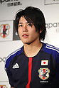 Atsuto Uchida (JPN), DECEMBER 26, 2011 - Football / Soccer : Japan National Team Official Uniform Announcement Press conference at Saitama Super Arena, Saitama, Japan. (Photo by YUTAKA/AFLO SPORT) [1040]